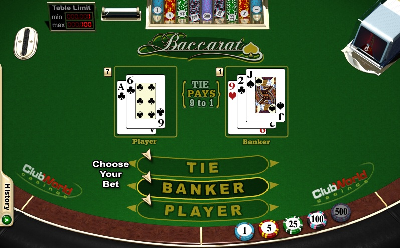 Baccarat Player